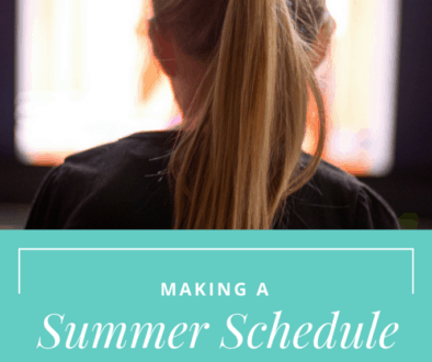 Create a Summer Schedule to Reduce Screen Time and keep little minds engaged and active this summer!