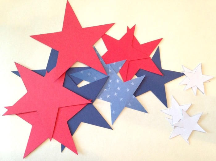DIY Patriotic Star Wands
