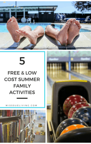 5 Free and Low Cost Summer Family Activities